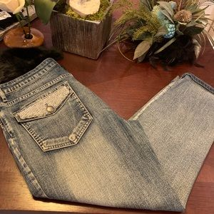 Tru Luxe Embellished Jeans Size 6